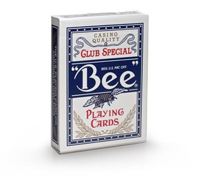 Bee playing card
