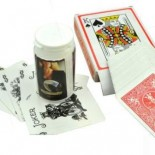 Card deck powder
