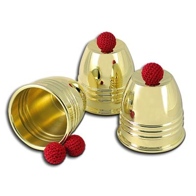 Cups and balls (gold)