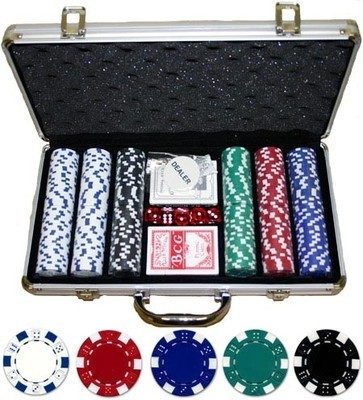 Poker Case 300 chips