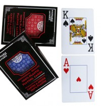 Poker deck 100% Plastic