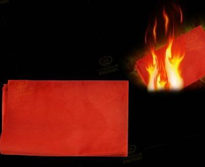 Flash paper (red)